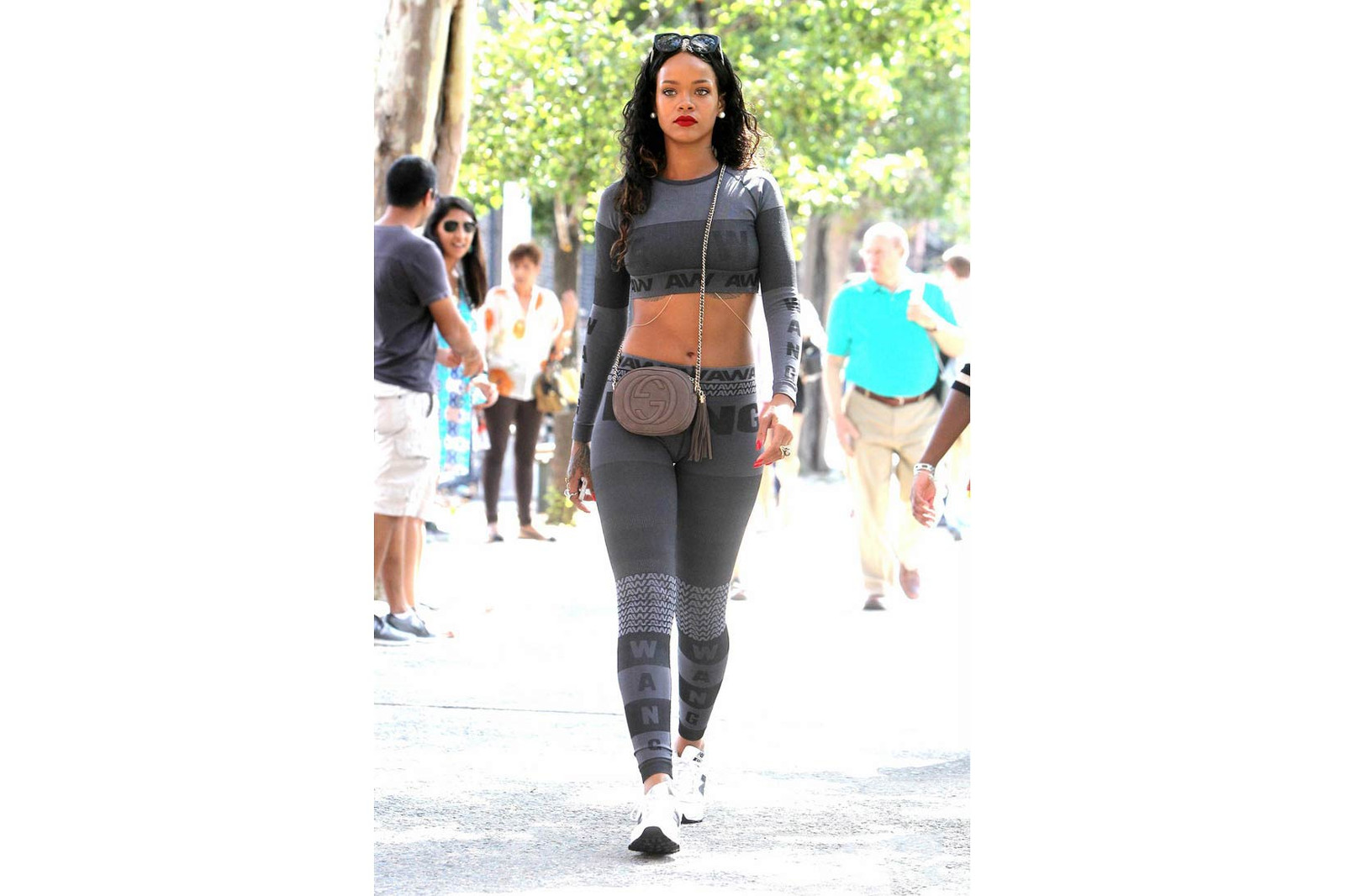 Rihanna Fenty PUMA Streetsnaps 2017