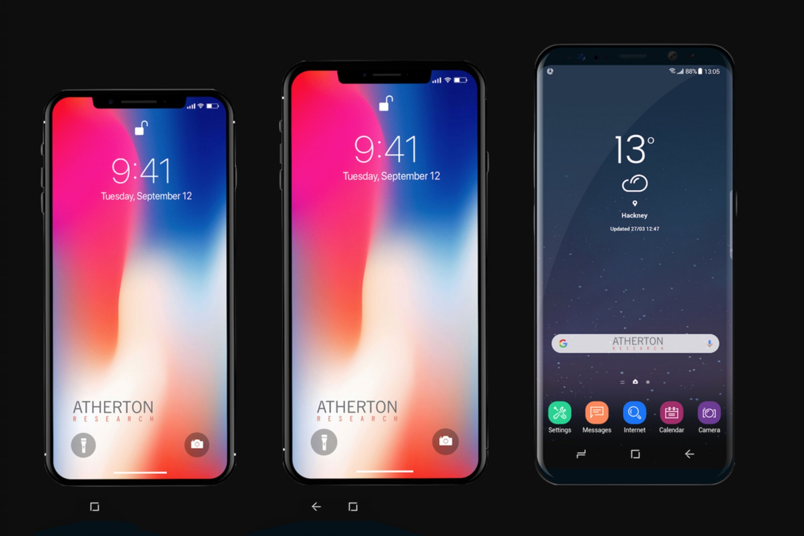 apple iphone x plus rumor september release oled display retina