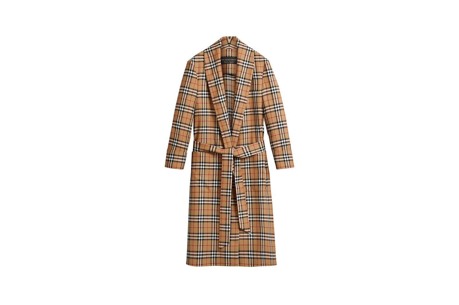 London Fashion Week 2018 Burberry Trench Coat