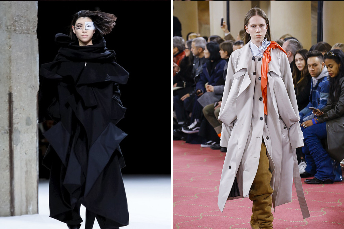 Fall/Winter 2018 Fashion Week Runway Trends Gucci Prada Balenciaga Dior Calvin Klein Raf Simons Versace