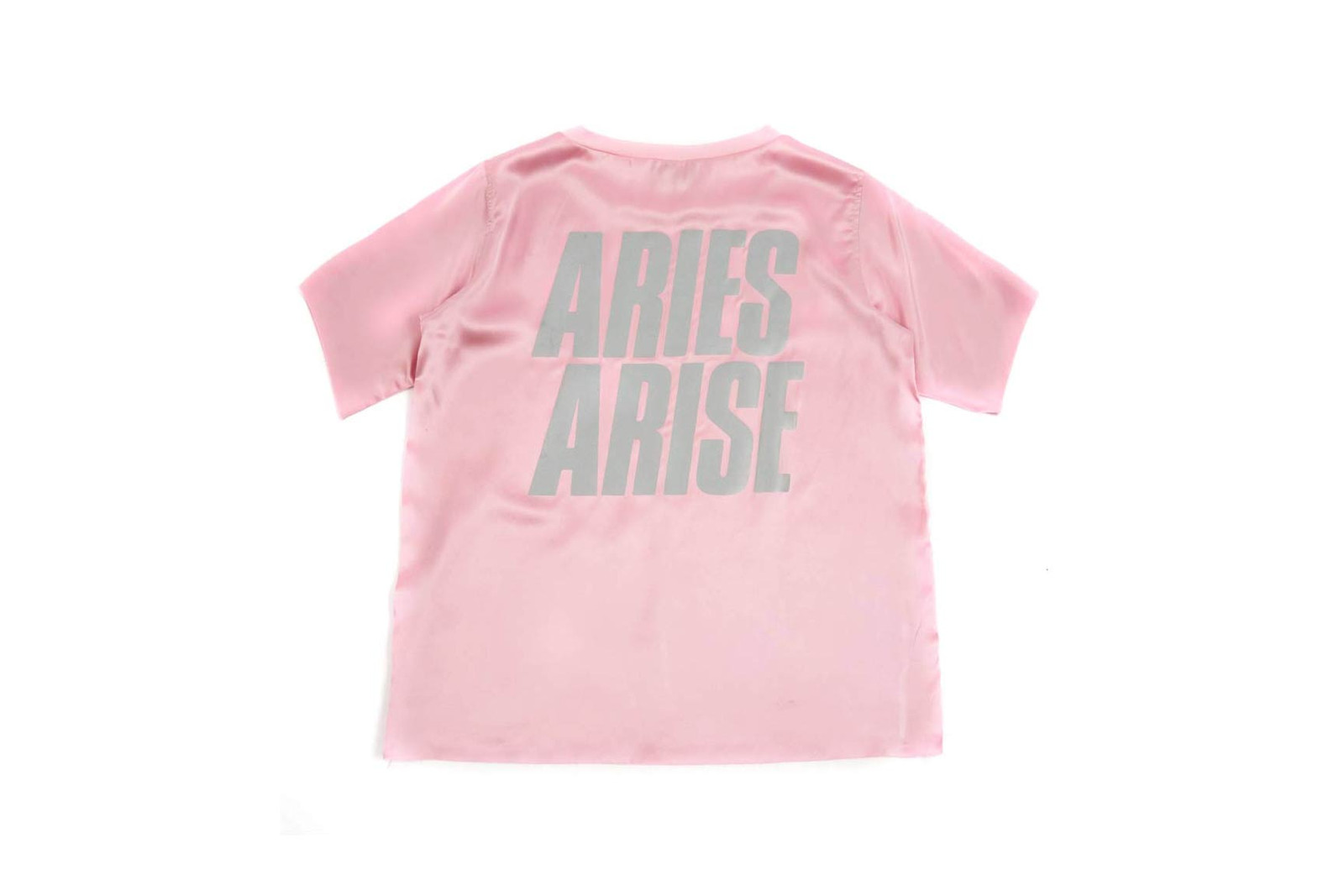 Aries T-Shirt Track Pants Pink Silk Goodhood