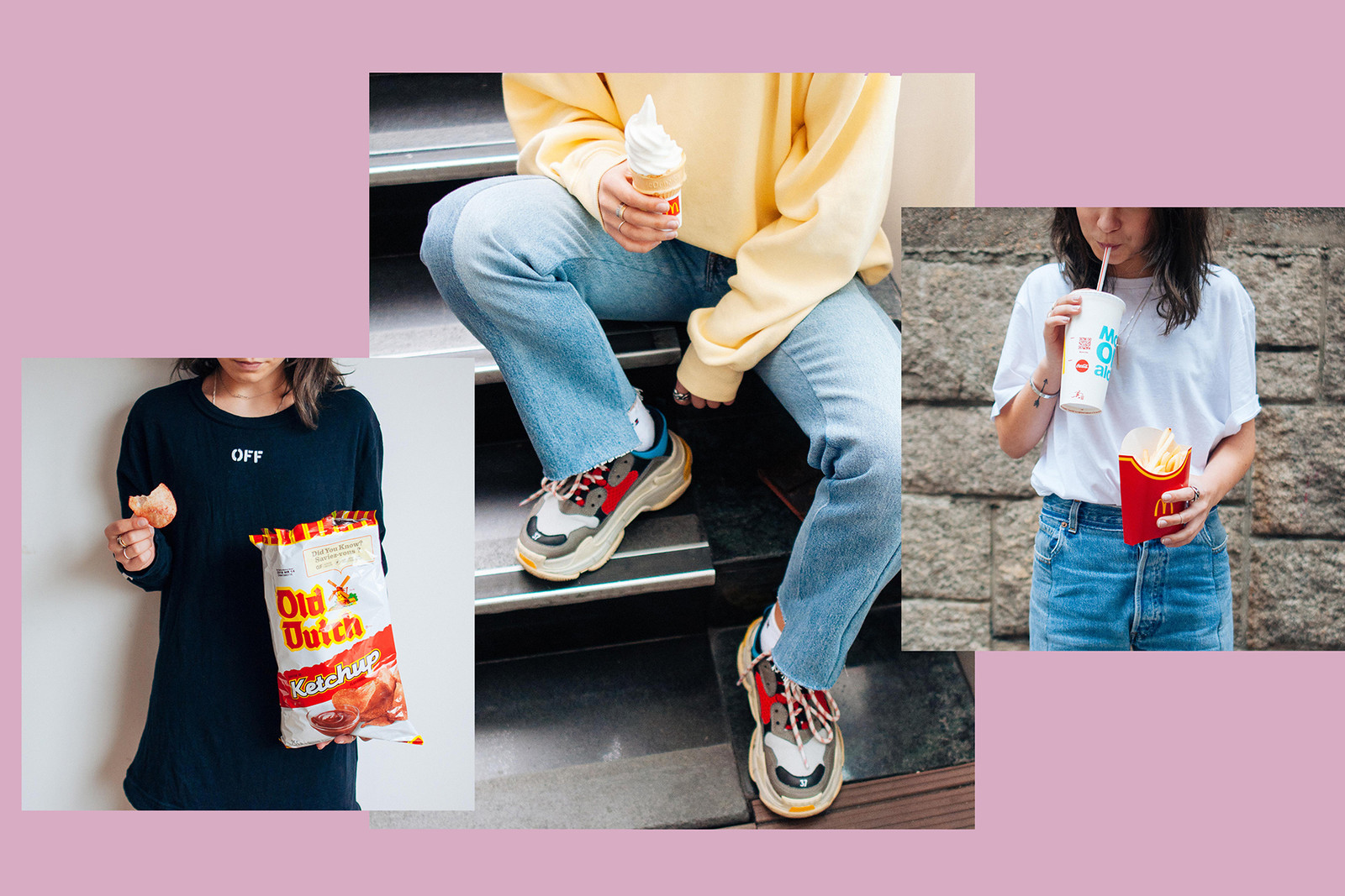 How to Take Perfect HYPEBAE Instagram Photo Supreme Off-White Virgil Abloh Comme des Garcons Louis Vuitton Gucci Designer Bags Sneakers adidas Nike Vetements Alexander Wang