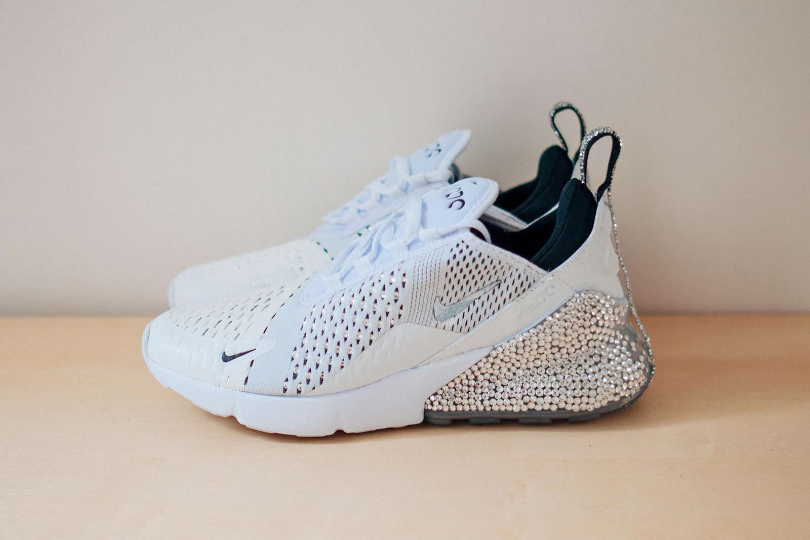 Nike Air Max Day 2018 Custom Sneakers Women DIY Customize Swarovski  Crystals Frankie Collective Sara Gourlay 70d67c139
