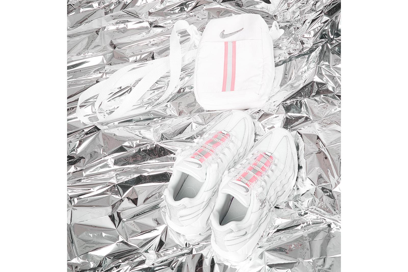 Nike Air Max Day 2018 Custom Sneakers Women DIY Customize Swarovski Crystals Frankie Collective Sara Gourlay Streetwear Art Design Mega McGrath Streetscript Stephanie Au Swimmer Sophia Wilson Elizabeth De La Piedra 95 90 270