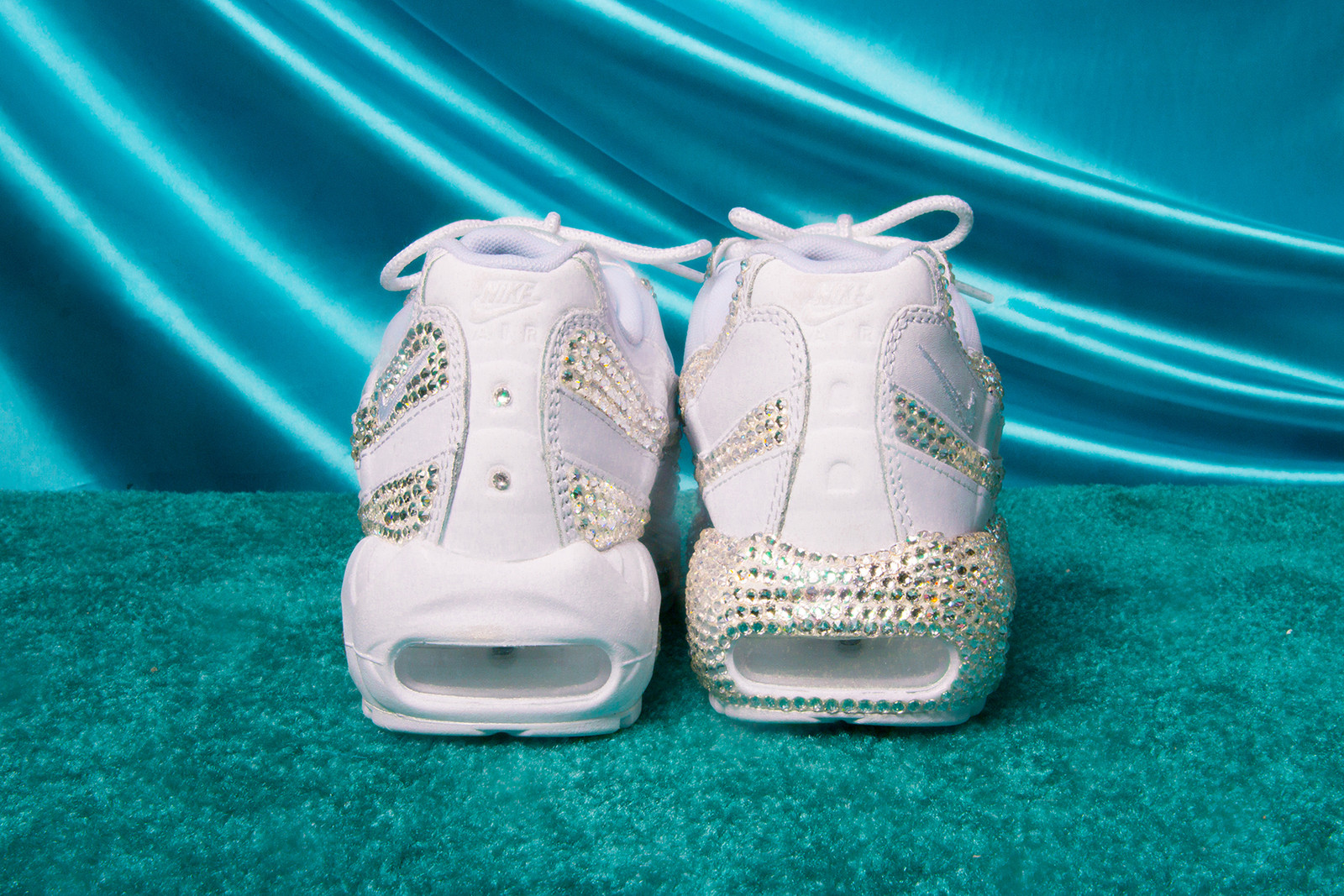 Sophia Wilson. 5 of 5. Nike Air Max Day 2018 Custom Sneakers Women DIY  Customize Swarovski ... ba2d134c9