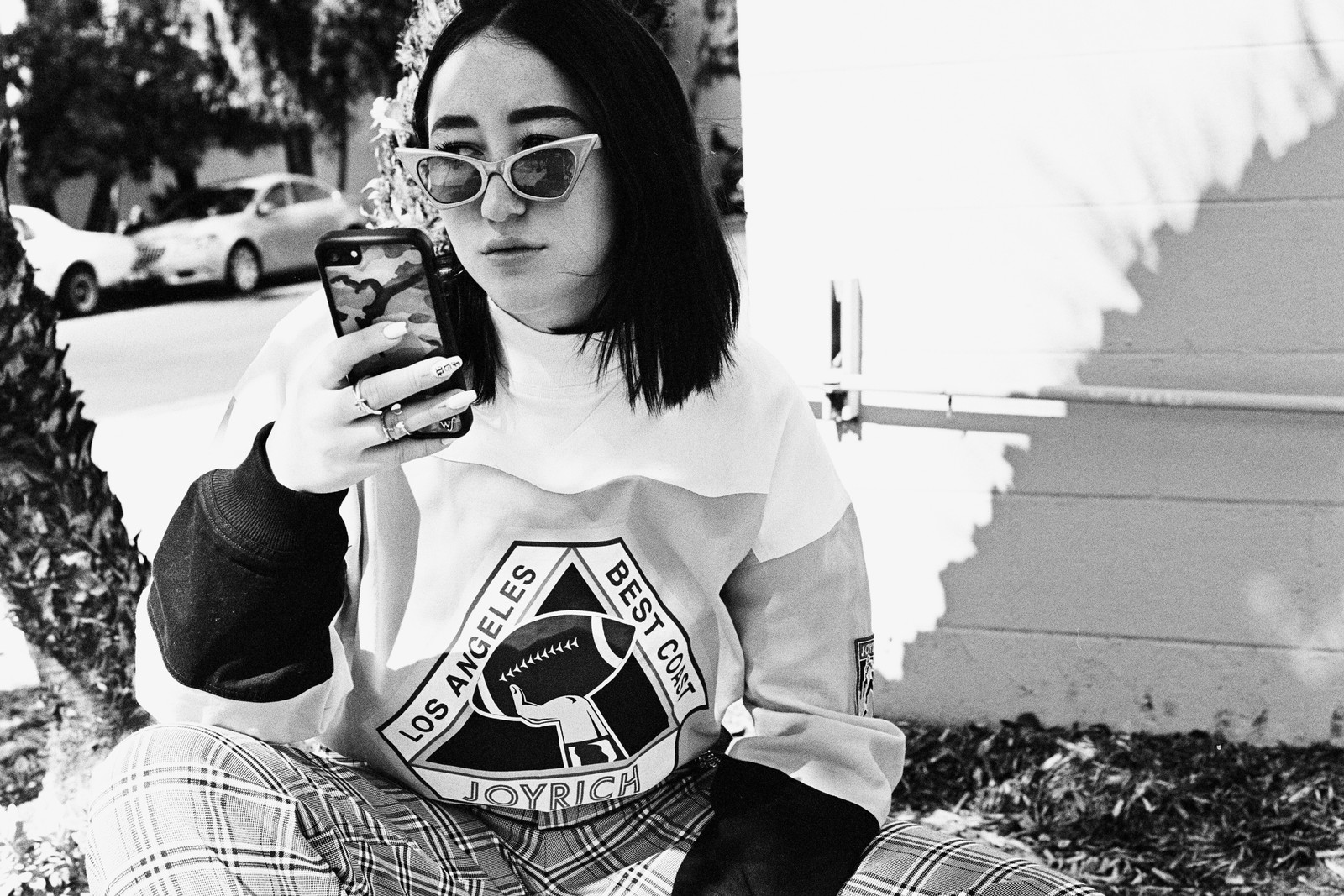 Noah Cyrus Miley Sister NC 17 Debut Album We Are MØ Joyrich Nike Reebok Interview Girl Power Joyrich Sunglasses Beret Film Photography Editorial Los Angeles Animal Rights Activism