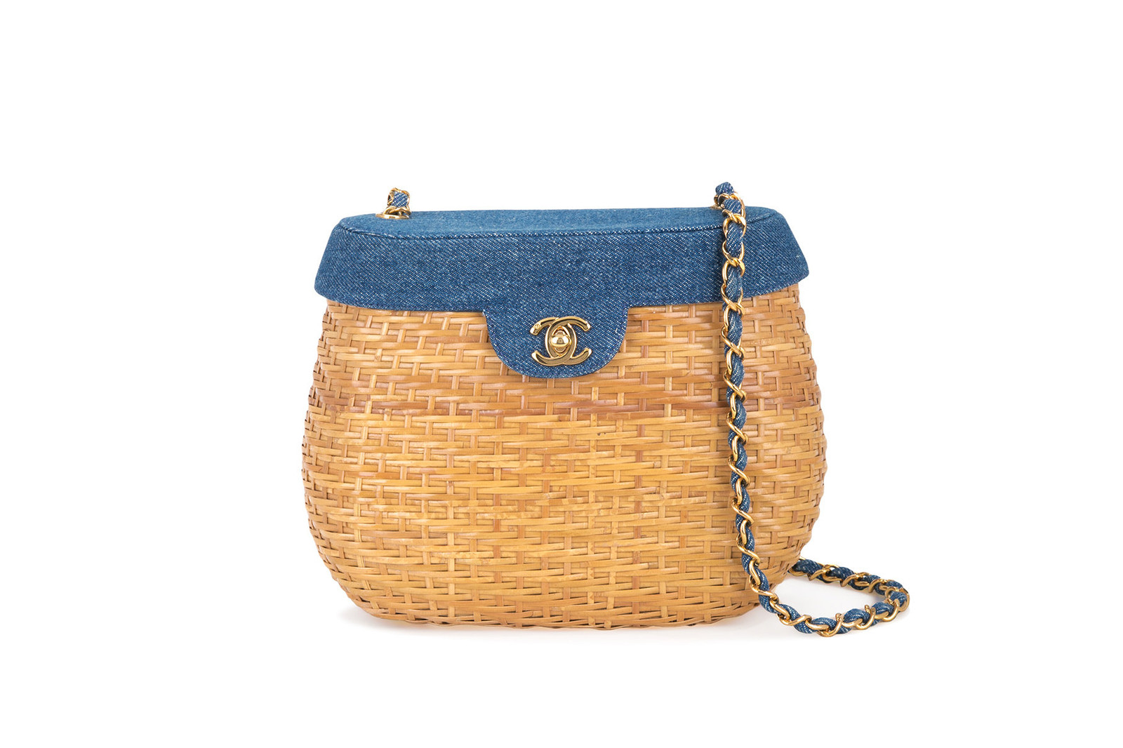 Picnic Basket Bag Trend Roundup Prada Chanel Cult Gaia Loewe Miu Miu Saint Laurent