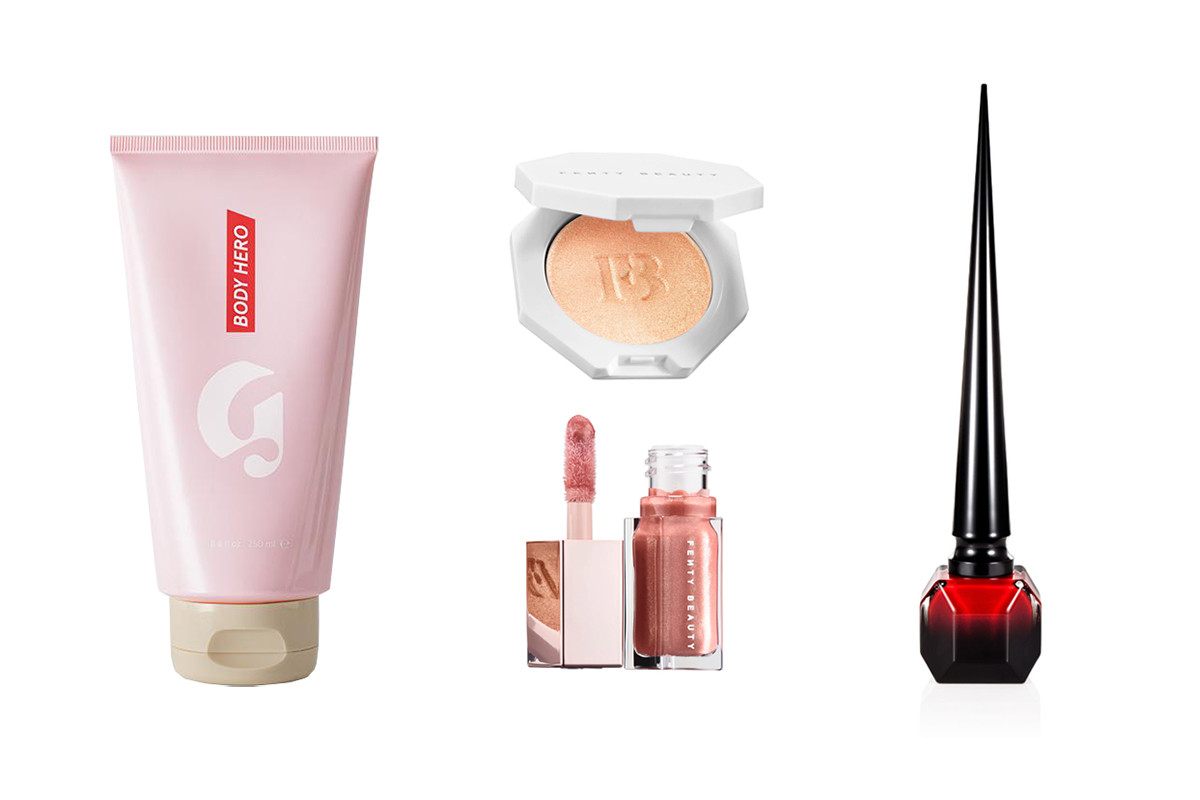 Best Beauty Makeup Skincare Products Spring 2018 Glossier Chanel Marc Jacobs BYREDO Aesop Waso Shiseido diptyque Christian Louboutin Rihanna Fenty Beauty RMS Lipstick Perfume Highlighter