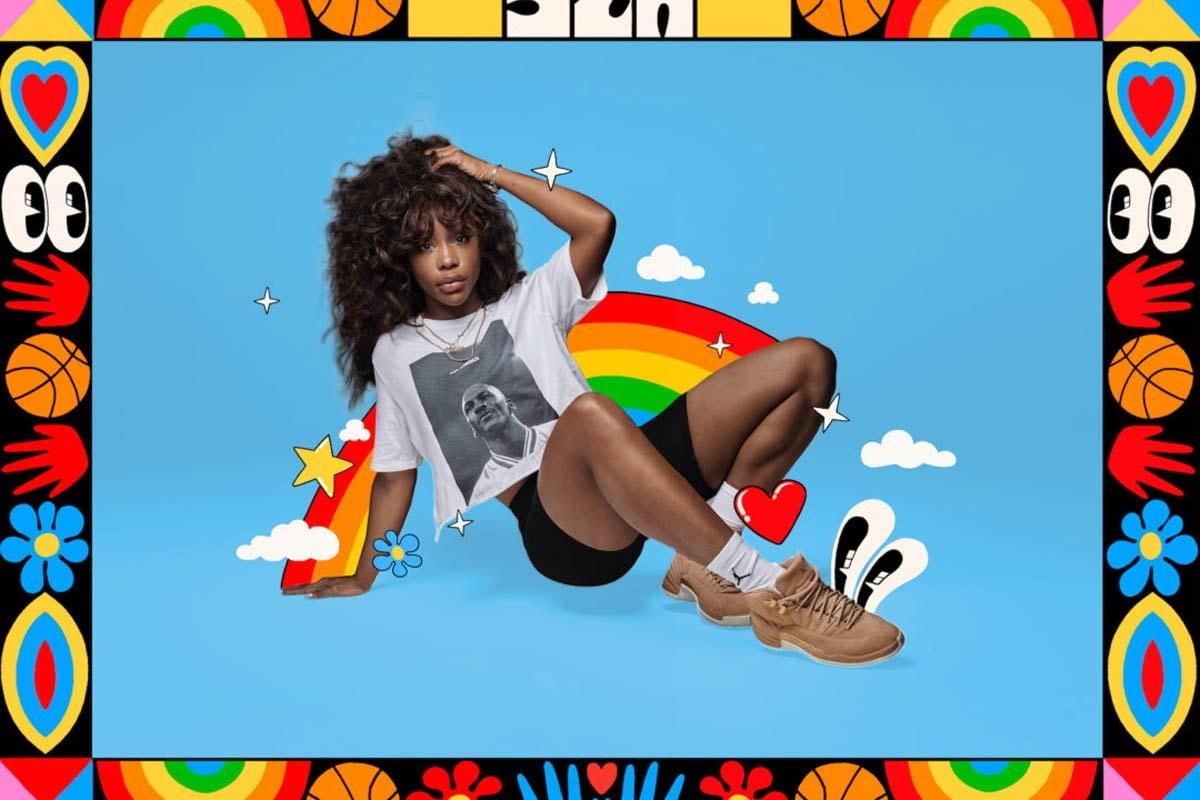 SZA Jordan Brand Nike Spring Summer 2018 Campaign