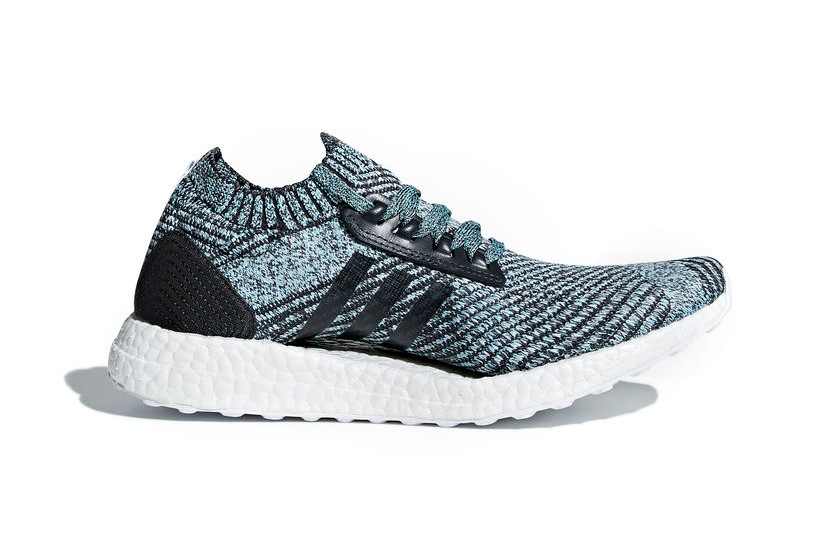 Parley x adidas UltraBOOST Carbon Non Dyed Blue