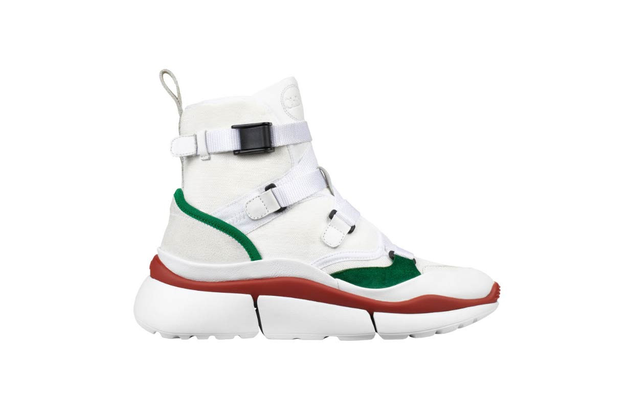 Chloe Sonnie Sneaker Lookbook