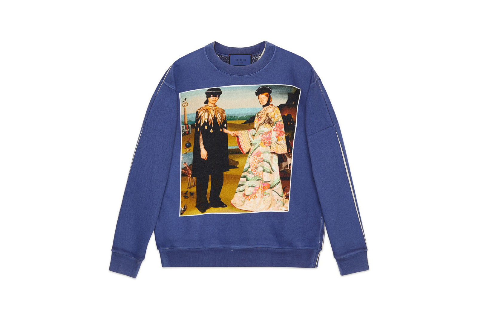 8d4eb3d0a70 Gucci  GucciHallucination Capsule Collection Sweatshirt Black