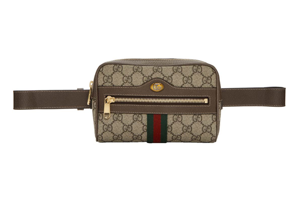 Gucci Marmont Belt Bag Black New York Fashion Week 2018 Street Style