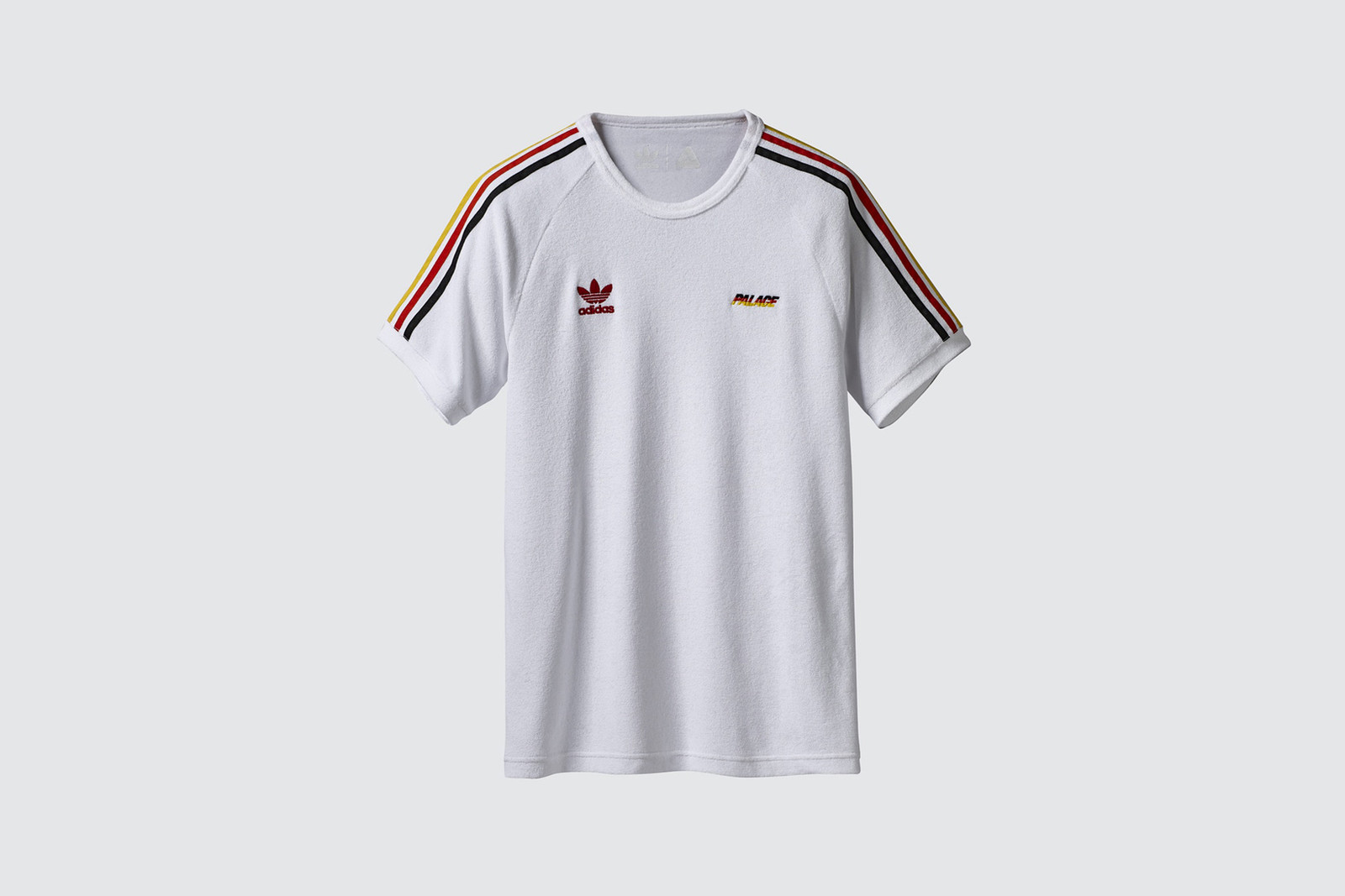 Palace x adidas Originals Summer 2018 Collection Terry Cloth Shirt White