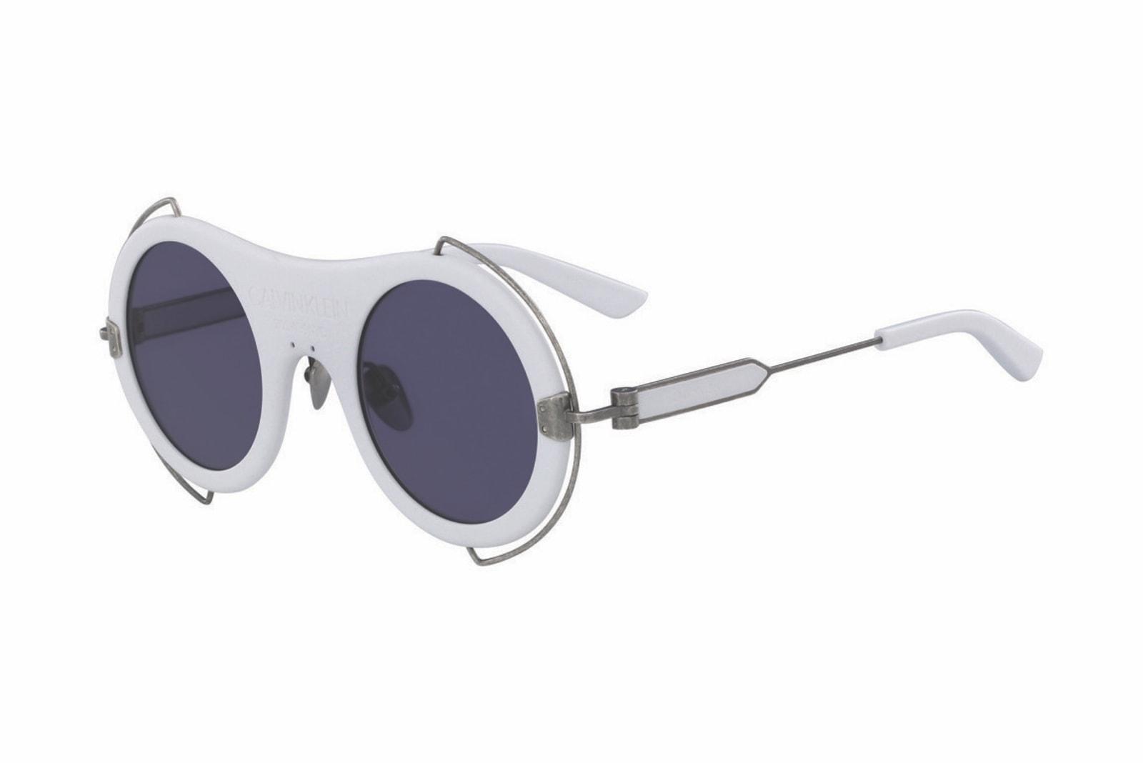 Calvin Klein 205W39NYC SS18 Eyewear Collection Raf Simons CK Sunglasses Accessories Calvin Klein Jeans Rebrand