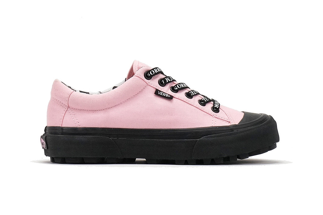 1c6189f4dfd Vans x Lazy Oaf Collaboration Collection 2018 Where to Buy Old Skool  Platform Style 29 Slip