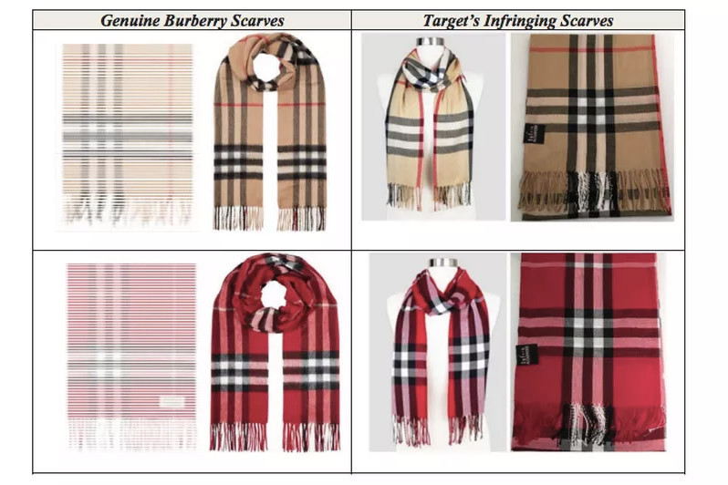 Burberry Sues Target Over Plaid Pattern Copyright Lawsuit