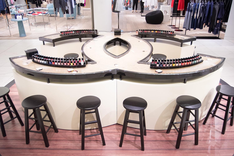 Chanel Beauty LES BEIGES À LA PLAGE Vancouver Pop-Up Store Makeup Holt Renfrew
