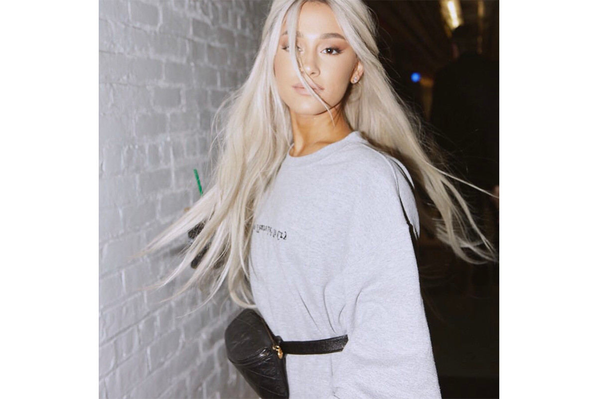 Chanel Vintage Belt Bag Fanny Pack Kendall Jenner Bella Hadid Ariana Grande Kourtney Kardashian Celebrity Street Style