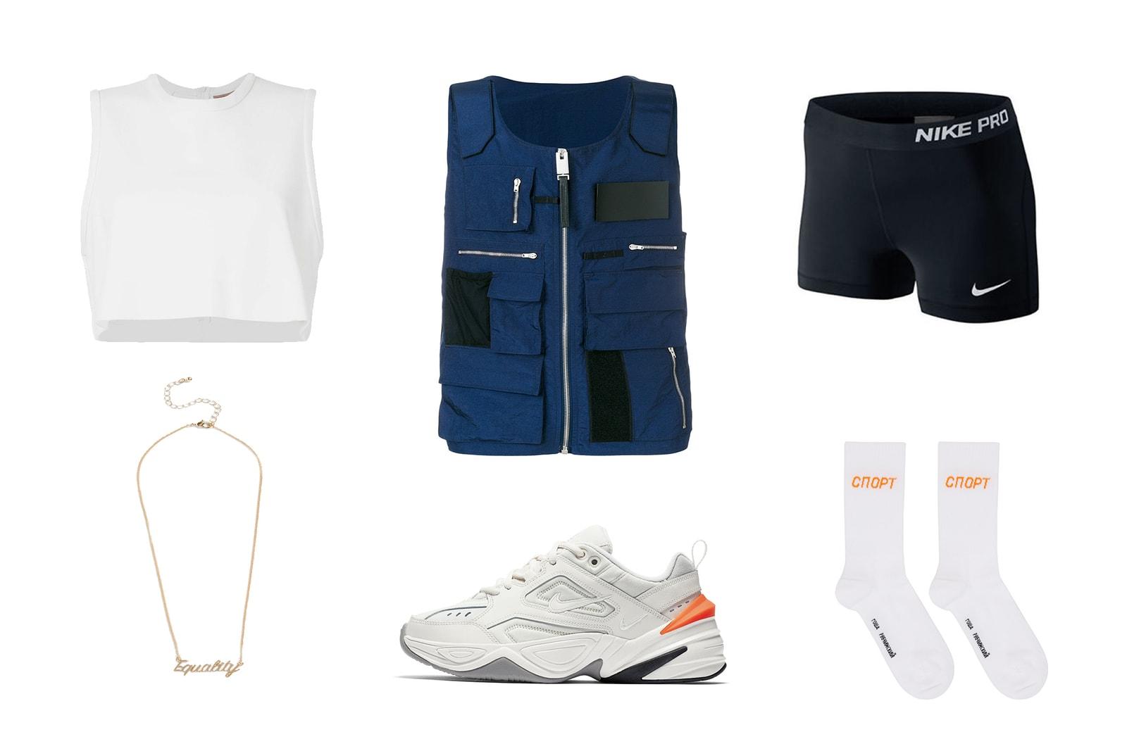 HYPEBAE Outfit Inspiration: Tactical Summer Look ALYX Trend Nike Gosha Rubchinskiy