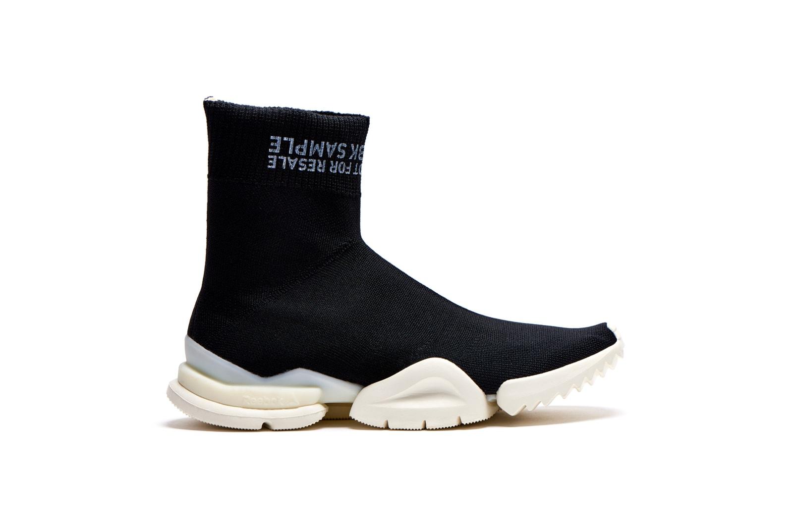 Reebok Sock Run.r Black Barney's