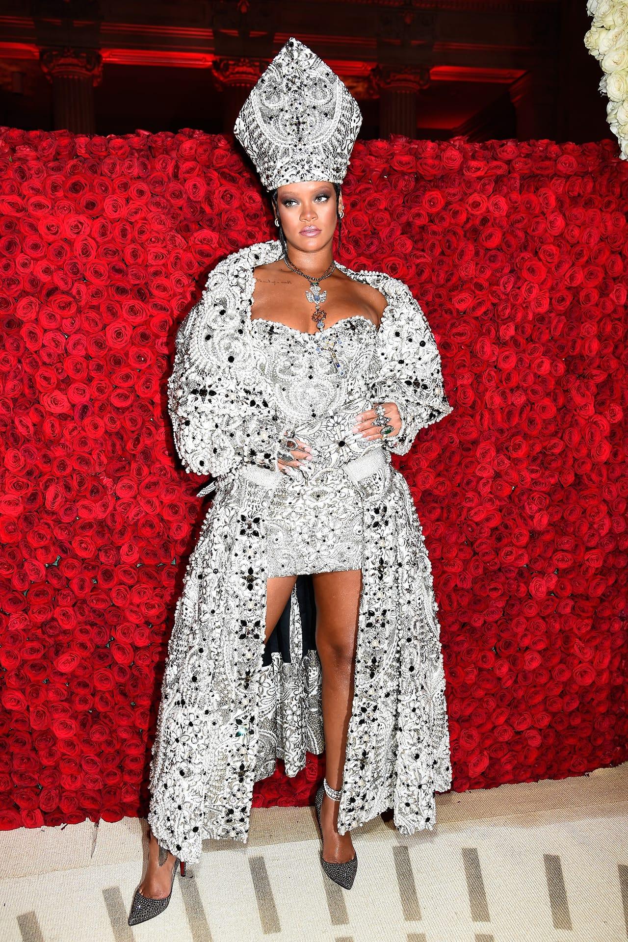 Rihanna's Most Iconic Met Gala Red Carpet Looks   HYPEBAE