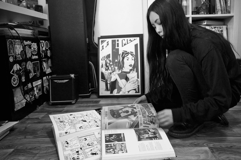 Stellar Leuna Stella Leung Prada Spring Summer 2018 Artist Illustrator Comic Collaboration