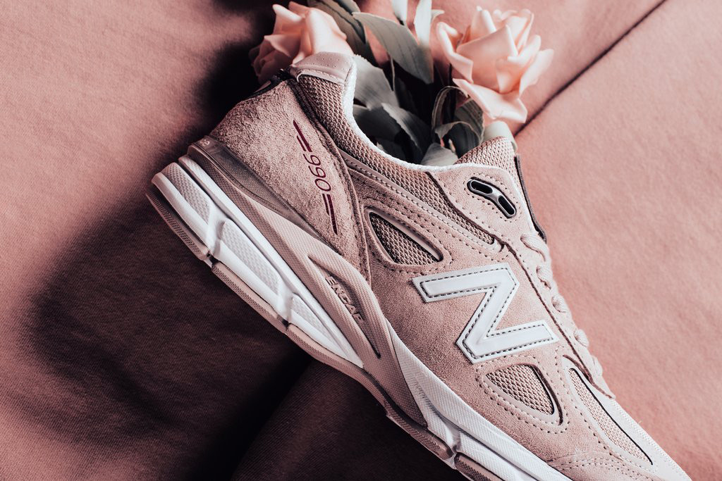 The Sneaker Edit New Balance 990 Faded Rose Komen Pink