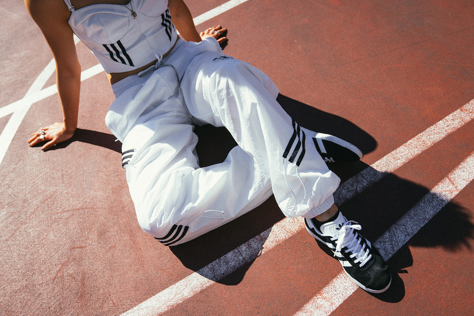 Danielle Cathari adidas Originals Tracksuit Collection Editorial