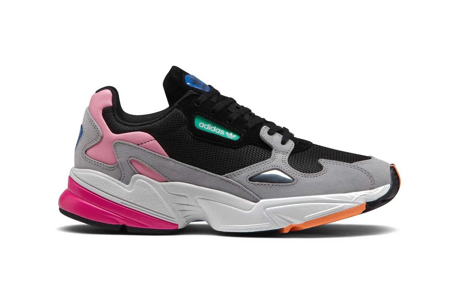 adidas Falcon Pink Gray Black