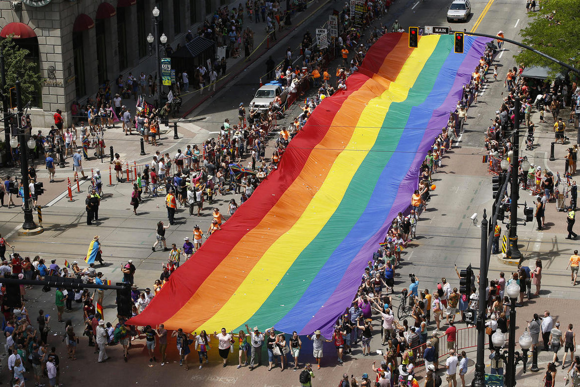 Here's the History of the Pride Rainbow Flag  Gilbert Baker Art LGBTQ Pride MOnth