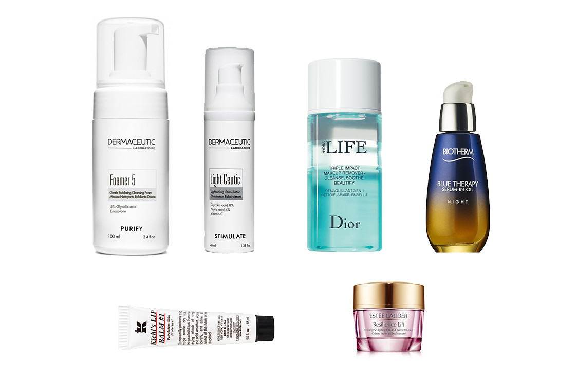 Nighttime Evening Skincare Products Beauty Kiehl's Malin Goetz Aesop Lush Cosmetics Shu Uemura