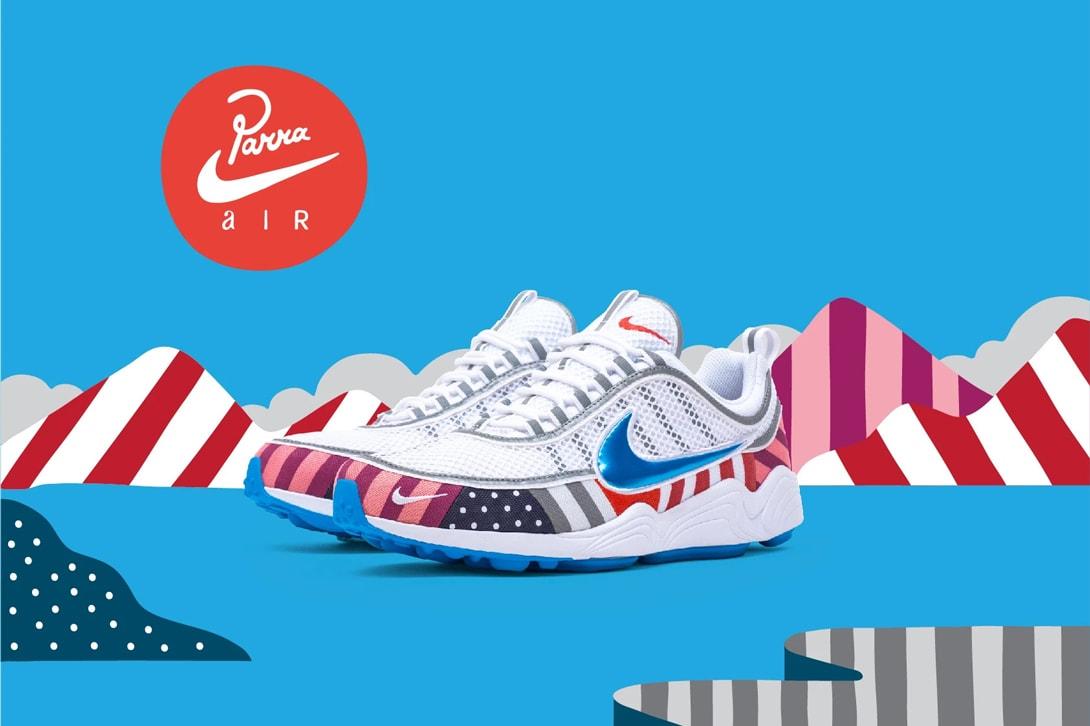 Parra x Nike Air Max 1 Air Zoom Spiridon