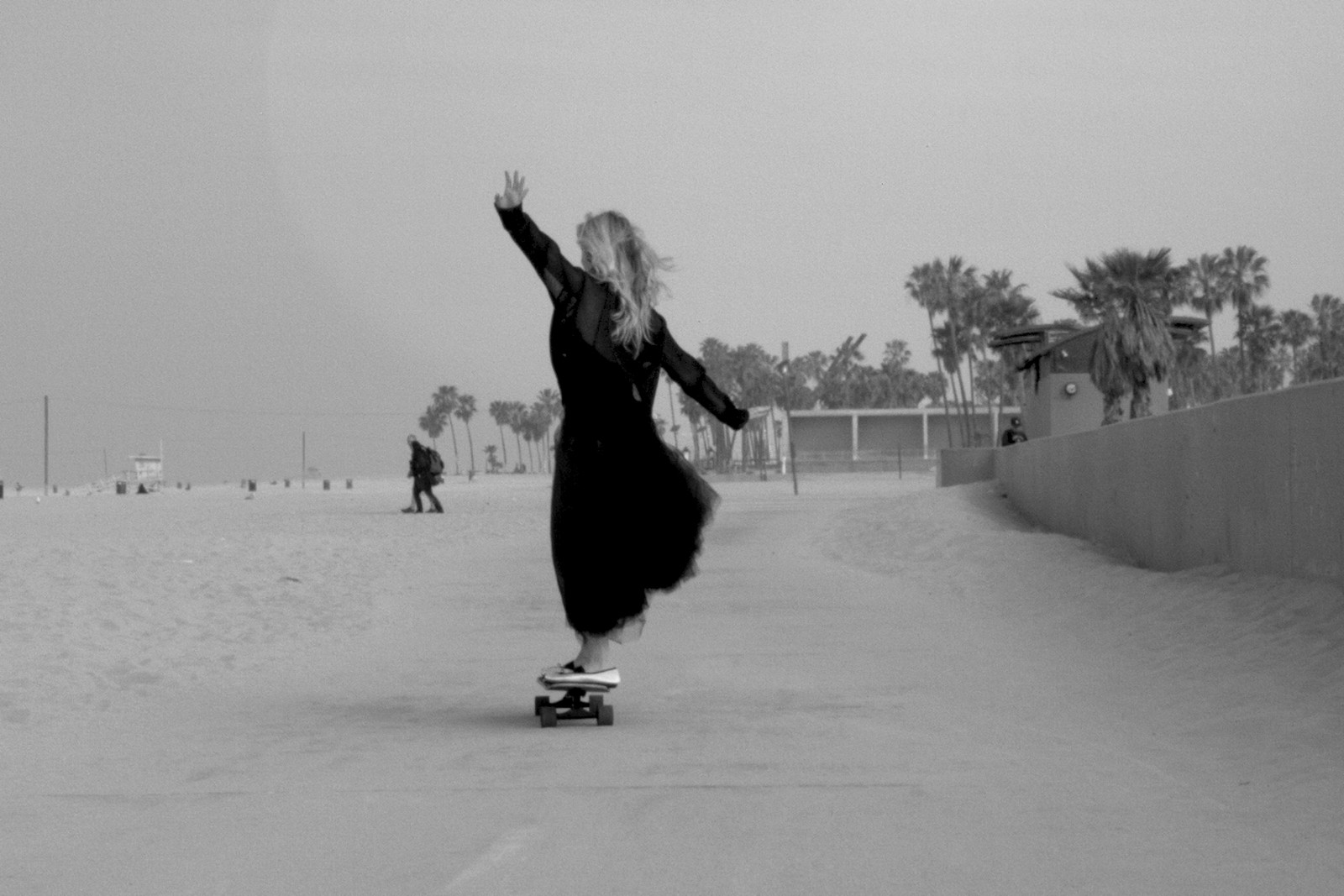 Repetto Dance and Skateboarding Campaign Lucy Jean Balette Skate Crew Girls GRLSWIRL