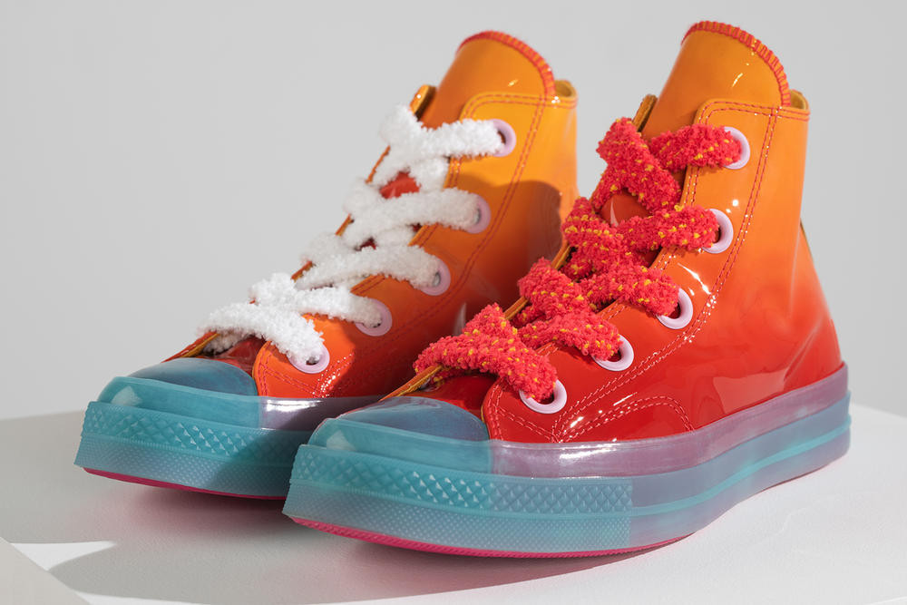 """JW Anderson x Converse """"Toy"""" Collection. Nike The 1 Reimagined Spring 2018  Colorways Orange Yellow Purple Violet Mist Blue Green Jester Rebel 70d306a03"""