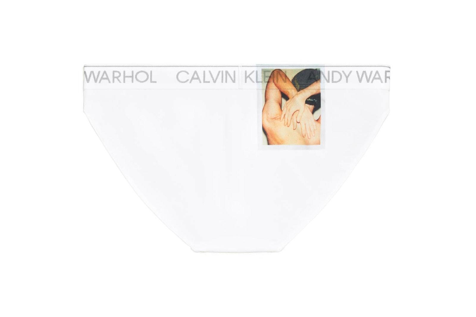 Calvin Klein Underwear Andy Warhol Bras Tanks T Shirts White Lookbook