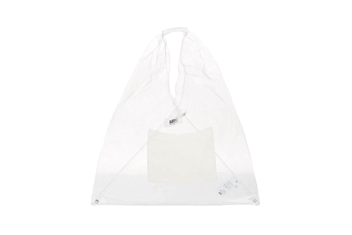 GCDS Clear Tote Bag