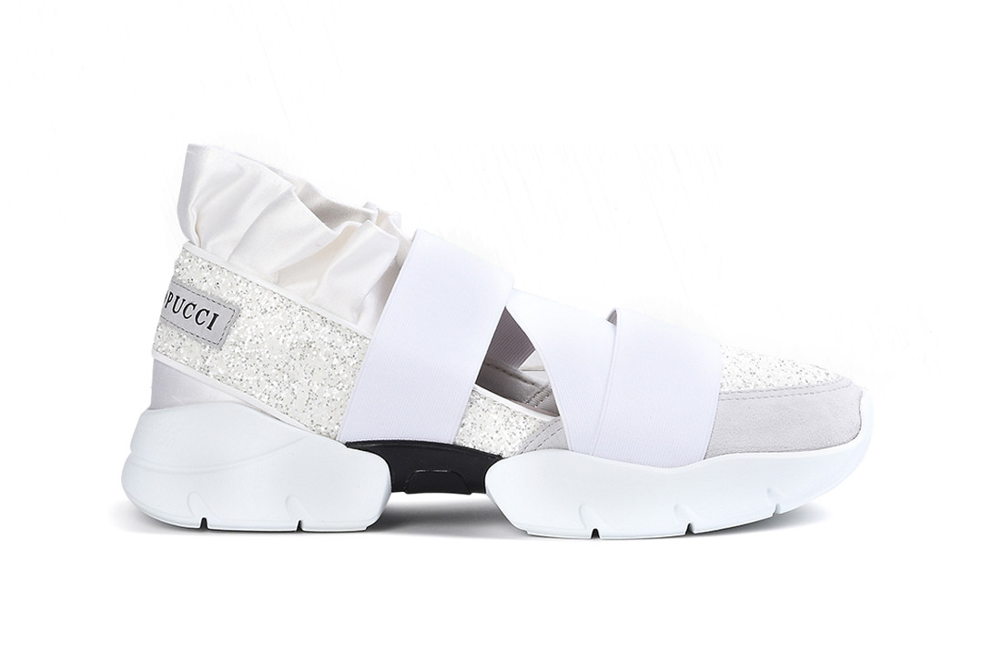 Emilio Pucci Night Glitter Sneaker