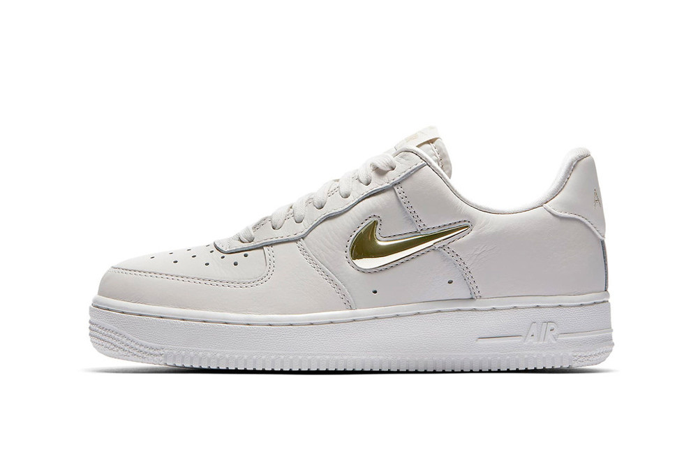 Nike Air Force 1 Jewel Pack Phantom Royal Tint Metallic Gold Star