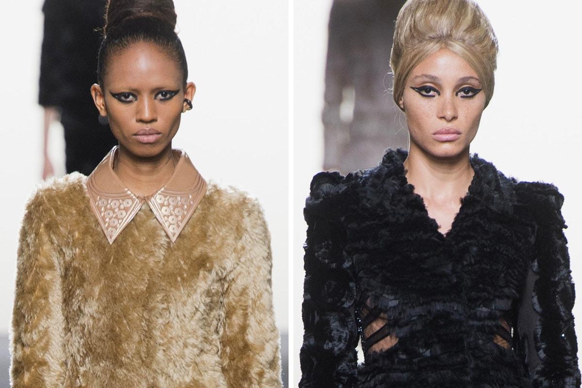 Iris van Herpen Haute Couture Fall Winter 2018 Paris Fashion Week Mirror Headpiece Art Design Reflection