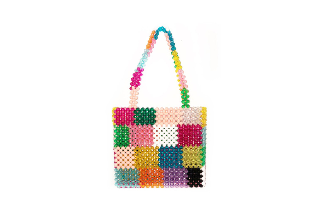 Susan Alexandra Ash Merry Seltzer Ma Cherie Beaded Bag