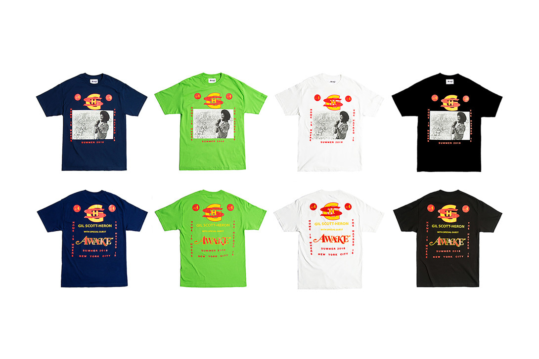 Awake NY Mid-Summer 2018 Collection Lookbook T-Shirt