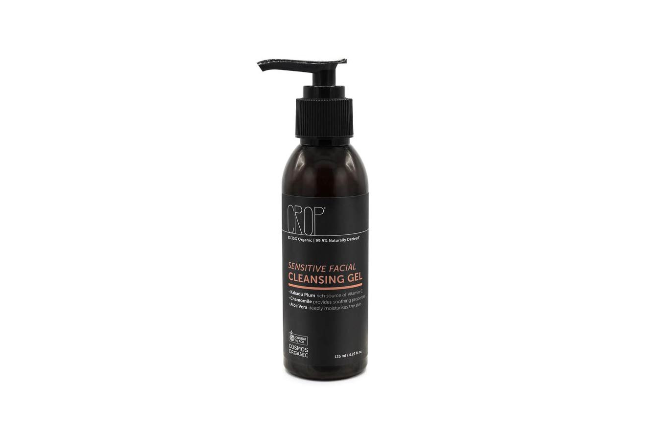 Crop Natural Antioxidant Facial Sensitive Cleansing Gel Serum Cream