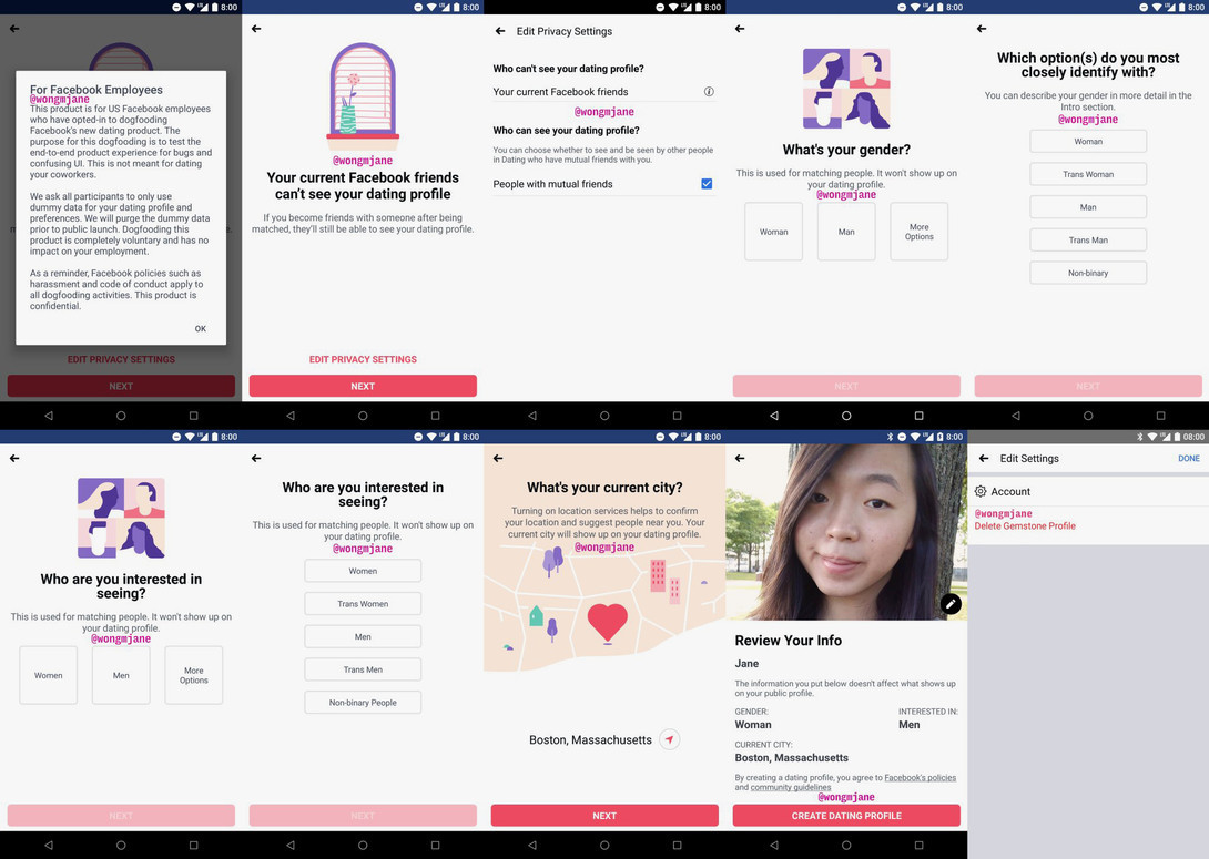 Facebook Dating Feature Genders New Match Tinder Testing