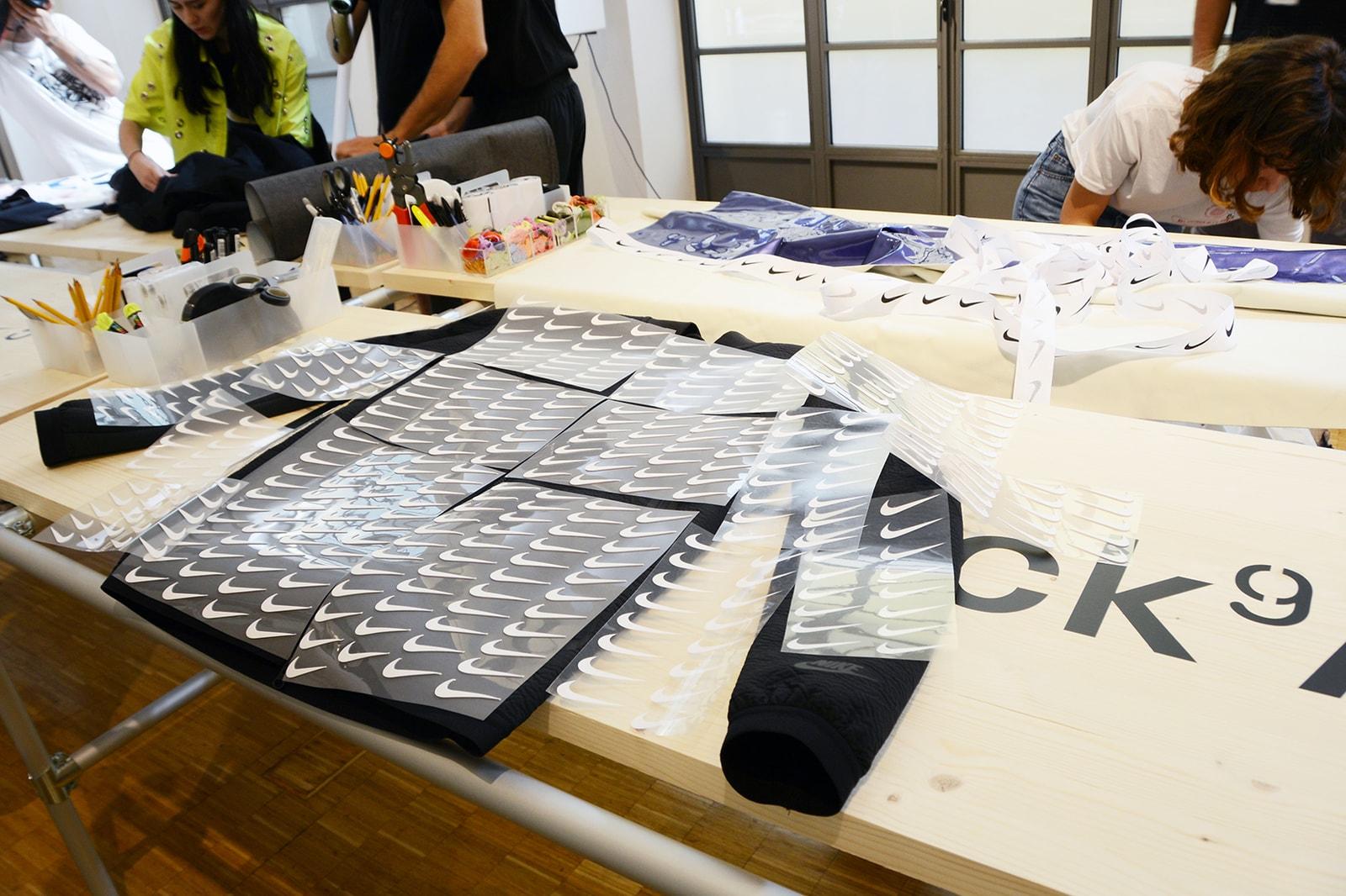 Mini Swoosh One Block Down Nike Tech Pack Collaboration Milan Atelier Interview