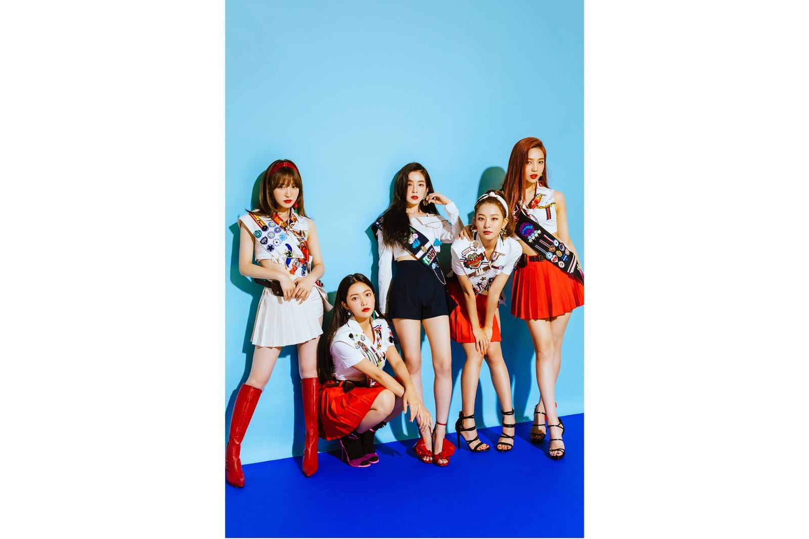 Red Velvet Summer Magic EP Album Cover Art