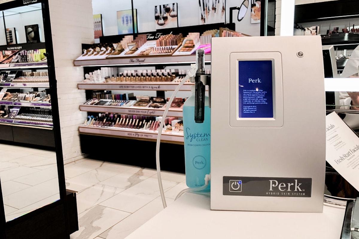 Sephora In-Store PERK Facial Makeup Skincare Review Treatment