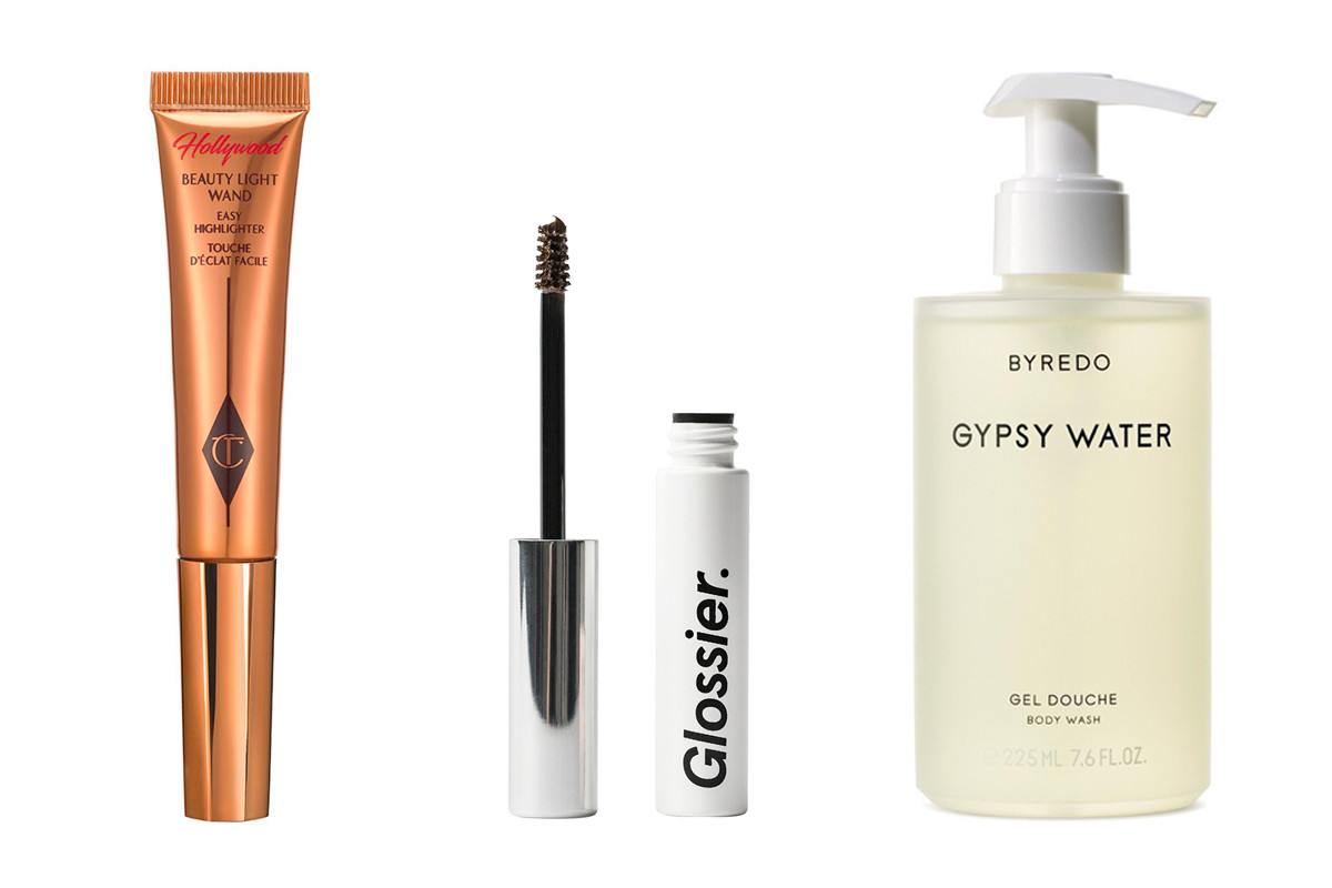 Summer Makeup Skincare Beauty Products Herbivore Botanicals Body Oil Peet Rivko Exfoliator Glossier Cloud Paint Charlotte Tilbury Lipstick Nars Concealer Dior Mascara