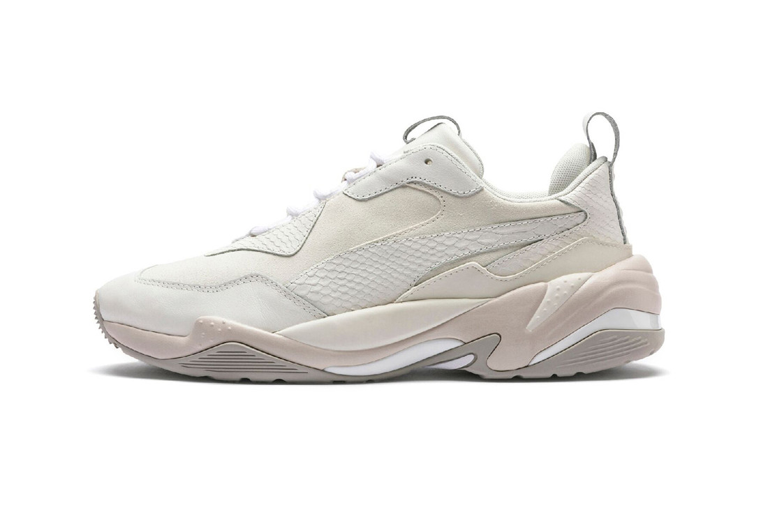 PUMA Thunder Desert Bright Star White