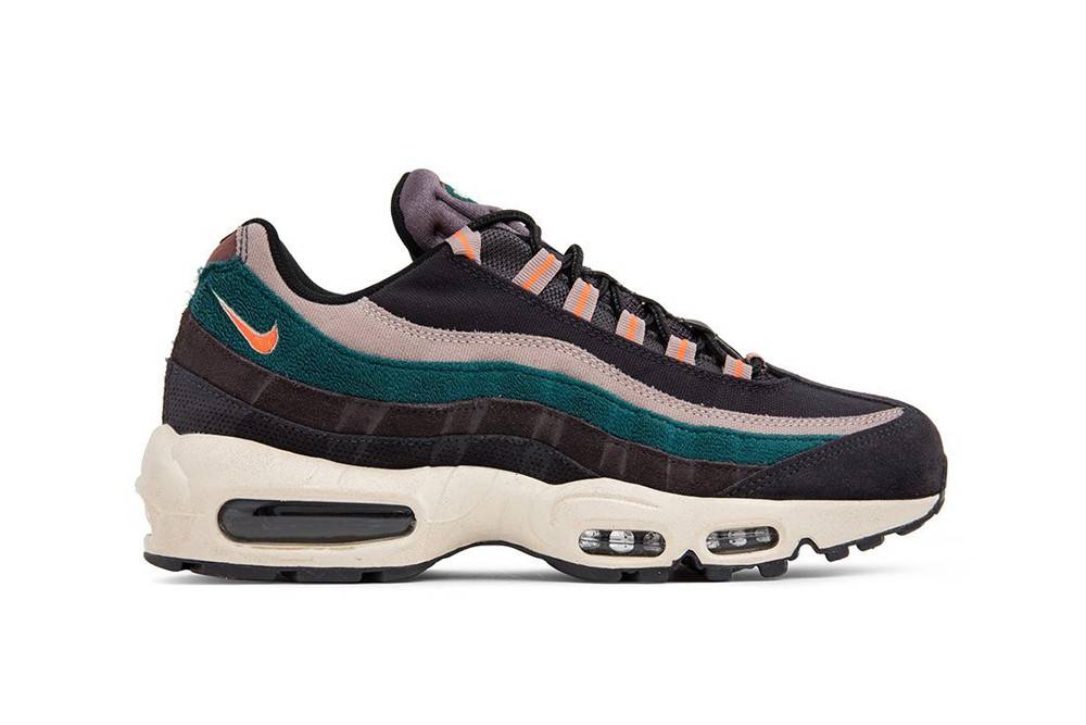 Nike Air Max 95 90 Premium SE Oil Grey Bright Mango Rainforest